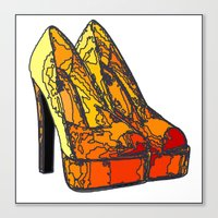 Shoe 3 Canvas Print