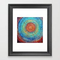 Color Blind Framed Art Print