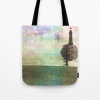 the only place to be high Tote Bag