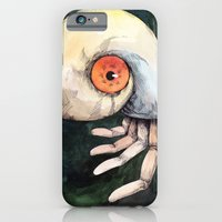 iPhone & iPod Case featuring The keen finger by Mini-Toki