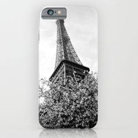 iPhone & iPod Case featuring Eiffel Tower by Msimioni