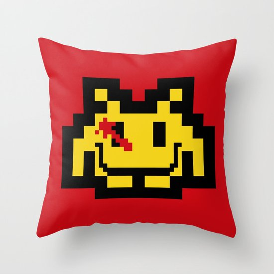Who Watches The Invaders? Throw Pillow