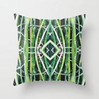 50 Shades of Green (6) Throw Pillow