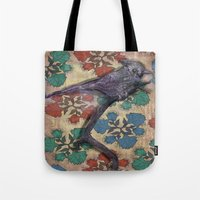 Weird bird Tote Bag