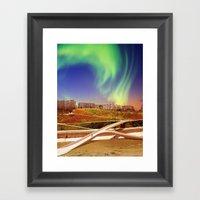 Port Mortum Framed Art Print