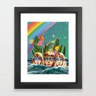 Future Islands Framed Art Print