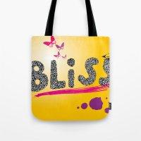 bliss. Tote Bag