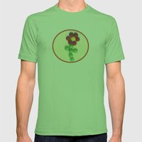 The Sweetest Blossom Mens Fitted Tee Grass SMALL
