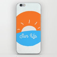 Sun Up iPhone & iPod Skin