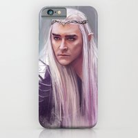 iPhone Cases featuring Thranduil sketch by Angela Taratuta