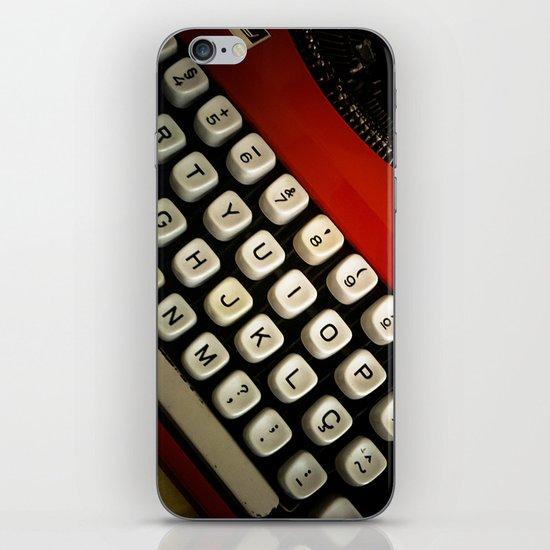Typewriter iPhone & iPod Skin