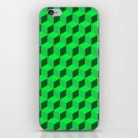 Geometric Series (Green)… iPhone & iPod Skin