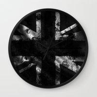 God Damn the Queen Wall Clock