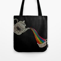 Don´t forget to have your daily rainbow dragon tea! Tote Bag