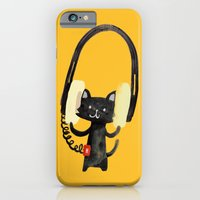 iPhone & iPod Case featuring I Love Huge Headphone by Budi Kwan