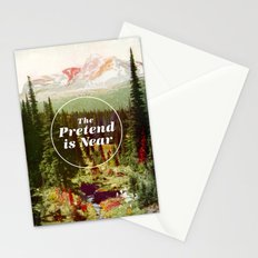 The Pretend Is Near. Stationery Cards