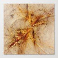 Sparkles Of Life Canvas Print