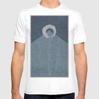 All Things Are One Mens Fitted Tee White SMALL