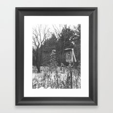 Birdhouse Framed Art Print