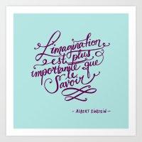 L'imagination Art Print