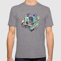 ESC Mens Fitted Tee Tri-Grey SMALL