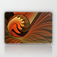 Never Give Up - Abstract… Laptop & iPad Skin