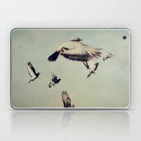 She Spread Her Wings And… Laptop & iPad Skin