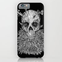 iPhone & iPod Case featuring Lumbermancer B/W by Nick Volkert