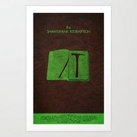 The Shawshank Redemption - (Version A) Art Print