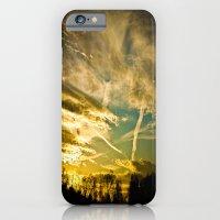 Sundown Sky Planes  iPhone 6 Slim Case