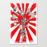 seppuku monster Canvas Print