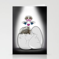 Newborn Ostrich Stationery Cards