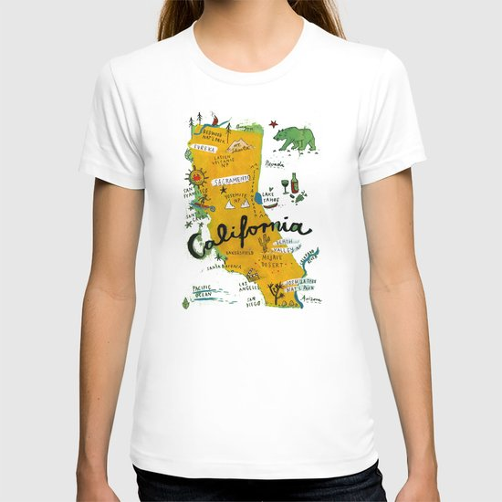 Postcard from California T-shirt