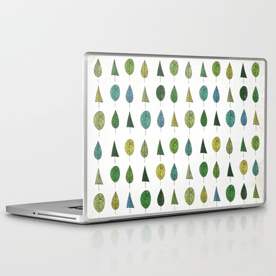 TREES MAKE A FOREST Laptop & iPad Skin