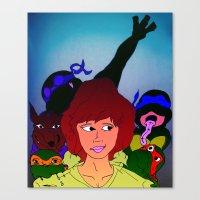TMNT ~ Family Values Canvas Print