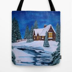 Winter landscape-1 Tote Bag