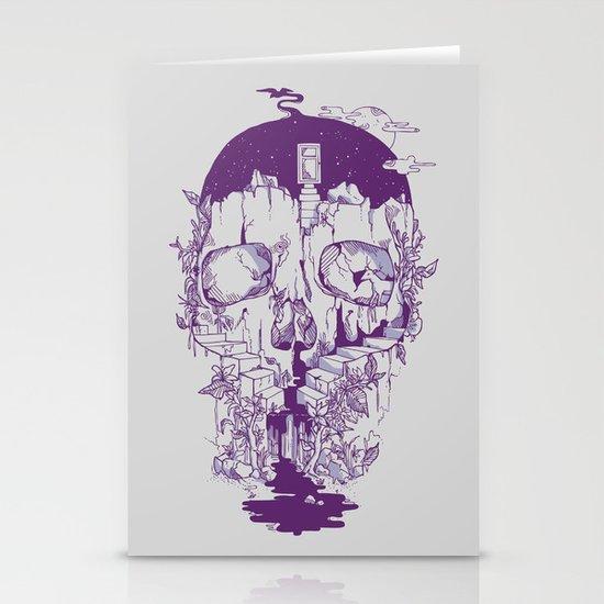 Inside My Head 2.0 Stationery Card