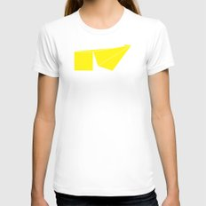 Median Womens Fitted Tee White SMALL