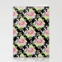 Kimono Bouquet Chintz Ditsy Stationery Cards
