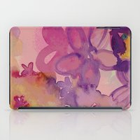 Dissolved Flowers iPad Case