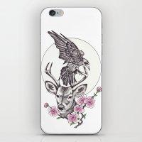 Raven Moon iPhone & iPod Skin