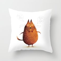 Mr. Nice Guy Throw Pillow
