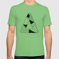 Personal Stormer Triangl… Mens Fitted Tee Grass SMALL