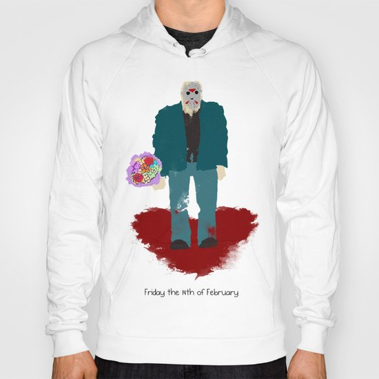 Friday the 14th of February (Monsters in Love) Hoody