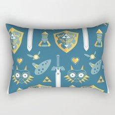 A Hero's Arsenal Rectangular Pillow