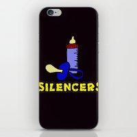 Silencers iPhone & iPod Skin