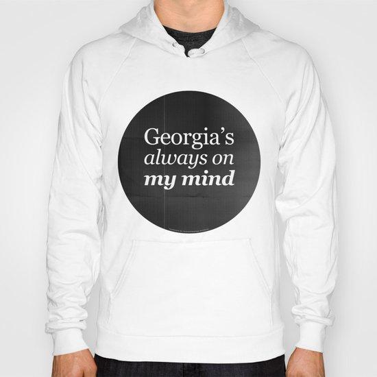 Georgia's always on my mind Hoody