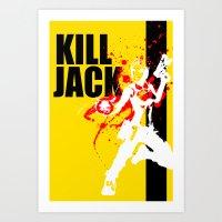KILL JACK - SIREN Art Print