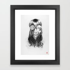 You are not crazy Framed Art Print