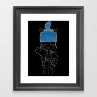 I Want To Be A Little Do… Framed Art Print